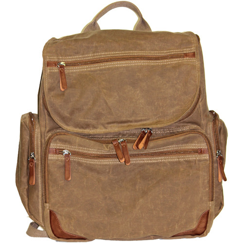 Buxton DOPP Gear Canvas Backpack (Tan)
