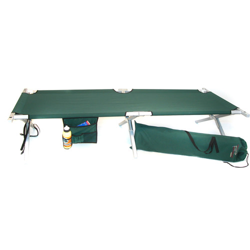 Byer of Maine Maine Military Cot (Green)