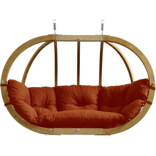 Byer of Maine Globo Double Royal Hanging Chair (Terra Cotta)