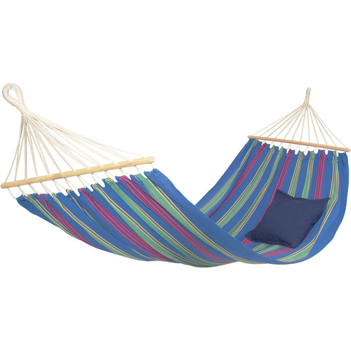 Byer of Maine Aruba Hammock with Water Bottle & Flashlight Kit (Juniper Blue)