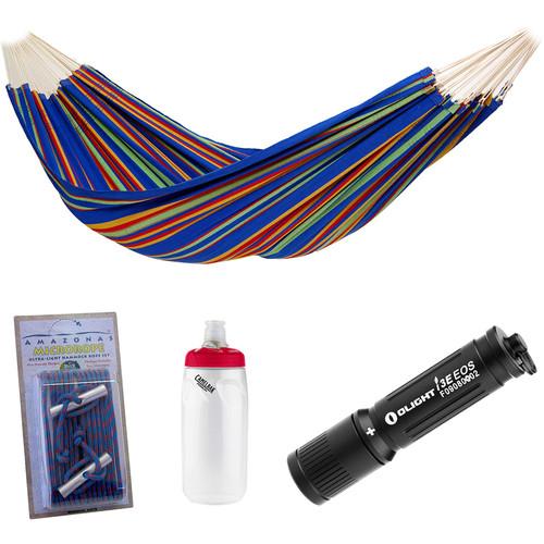 Byer of Maine Barbados Hammock Essentials Kit (Blue Sky)