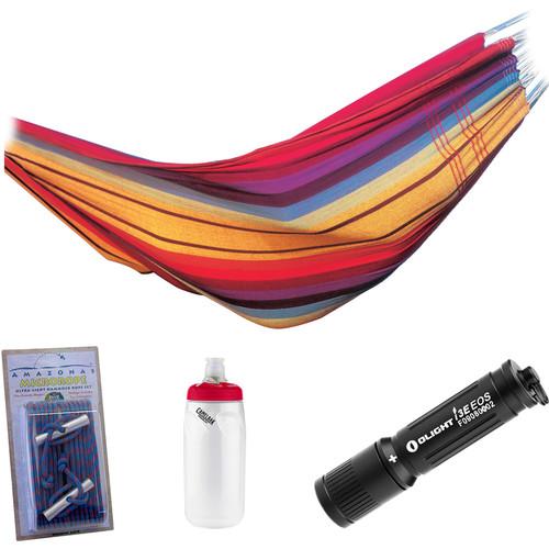 Byer of Maine Barbados Hammock Essentials Kit (Rainbow)