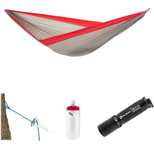 Byer of Maine Easy Traveller Hammock Essentials Kit (Twilight Red)