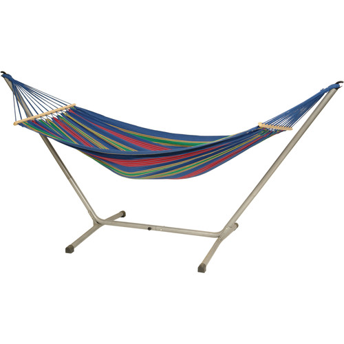Byer of Maine Jet Set Hammock & Stand (Juniper Blue)