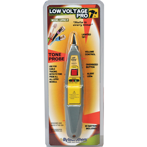 Byte Brothers Lighted Tone Probe for Low Voltage Pro Tester