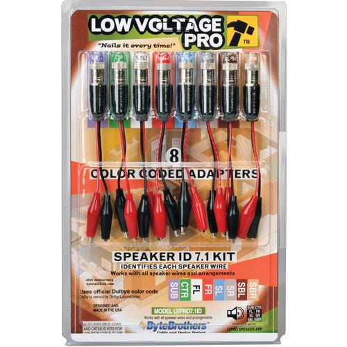 Byte Brothers LVPRO 8-Piece 7.1 Speaker ID Kit