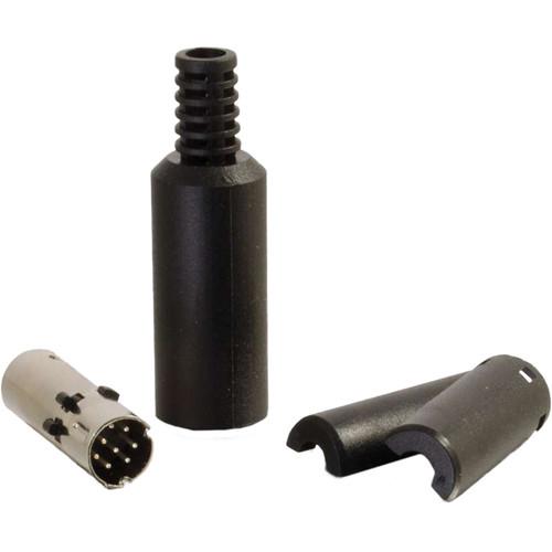 C2G 8-Pin Mini Din Male Connector (Black)