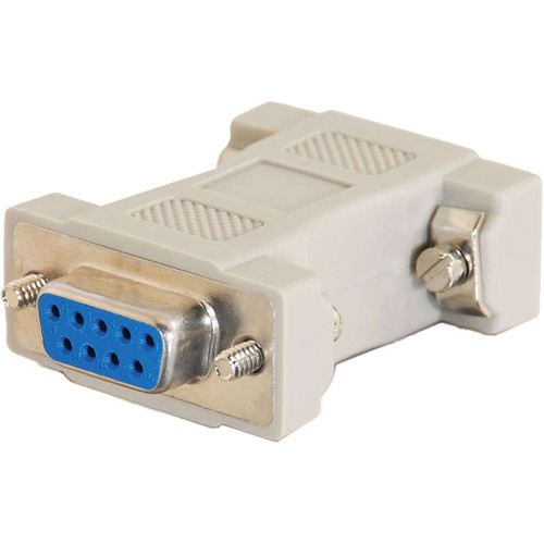 C2G Multisync VGA HD15 Male to DB9 Female Serial RS232 Adapter