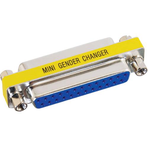 C2G DB25 F/F Mini Gender Changer (Coupler)
