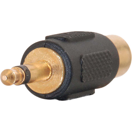 C2G RCA Jack to 3.5mm Mono Plug Audio Adapter