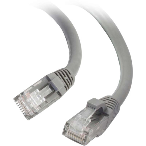 C2G RJ45 Male to RJ45 Male Cat 6 Snagless Patch Cable (20', Gray)