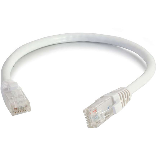 C2G RJ45 Male to RJ45 Male Cat 6 Snagless Patch Cable (30', White)