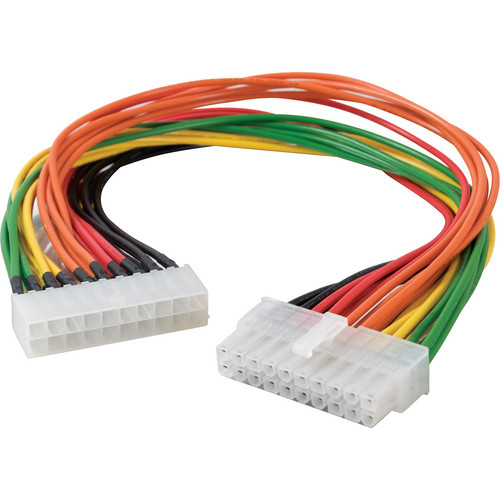 "C2G ATX 20-Pin Motherboard Power Extension Cable (13"")"