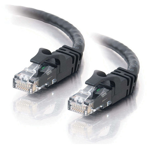 C2G 7' (2.13m) Cat6 Snagless Patch Cable (Black)