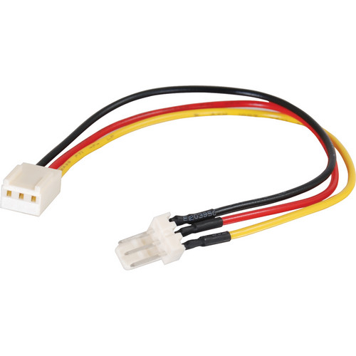 "C2G 3-Pin Fan Power Extension Cable (7"")"
