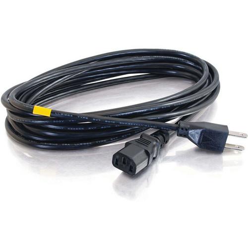 C2G 4' NEMA 5-15P to IEC320C13 16 AWG Universal Power Cord (Black)