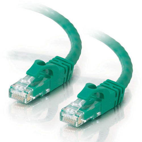 C2G 5' (1.52m) Cat6 Snagless Patch Cable (Green)