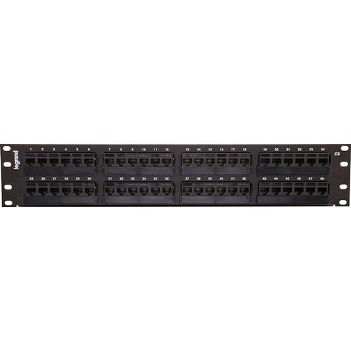C2G 48-Port Cat 6 110-Type Patch Panel