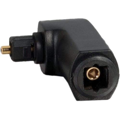 C2G Velocity Right Angle TOSLink Port Saver Adapter