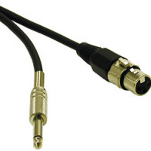 "C2G Pro-Audio XLR Female to 1/4"" Male Cable (3')"