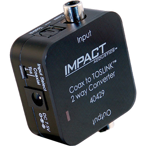 C2G Dual Output Digital Audio Adapter (Black)