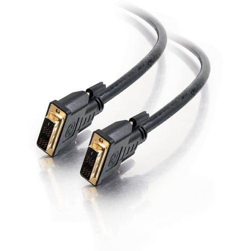 C2G Pro Series DVI-D M/M Single-Link Plenum Video Cable (15', Black)