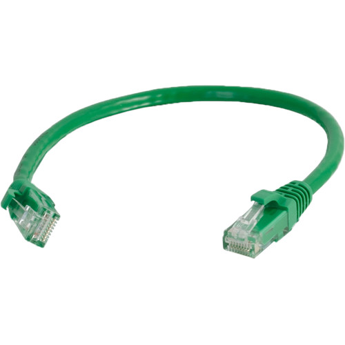 C2G 7' Cat6a Snagless Unshielded Ethernet Network Patch Cable (Green)