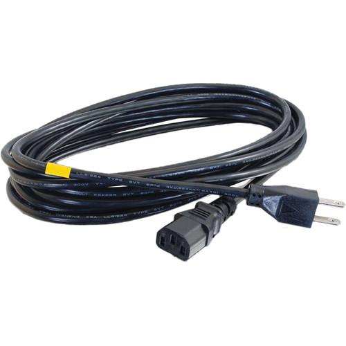 C2G 18 AWG Universal Power Cord (NEMA 5-15P to IEC C13, 12')