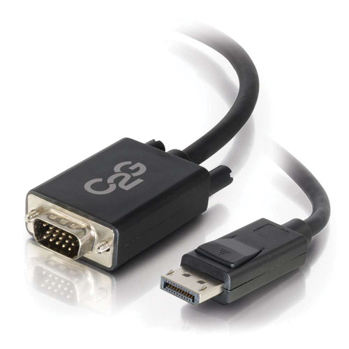 C2G DisplayPort Male to 15-Pin VGA Male Active Adapter Cable (3')