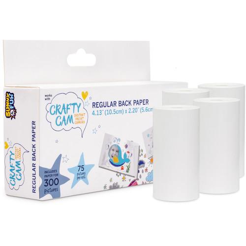 Sunny & Fun Crafty Cam Printing Paper (4 Rolls)