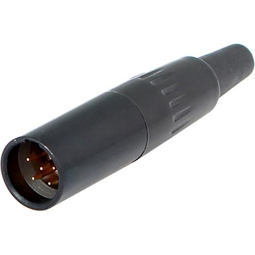 Cable Techniques TA5M 5-Pin Male Mini-XLR Connector (Black)