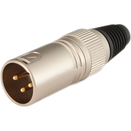 Cable Techniques 3-Pin XLR Male Connector (Nickel)