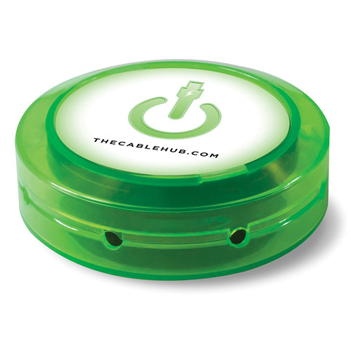 CableHub Round CableHub (Edge Glow Green)