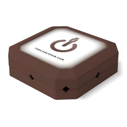 CableHub Square CableHub (Espresso)