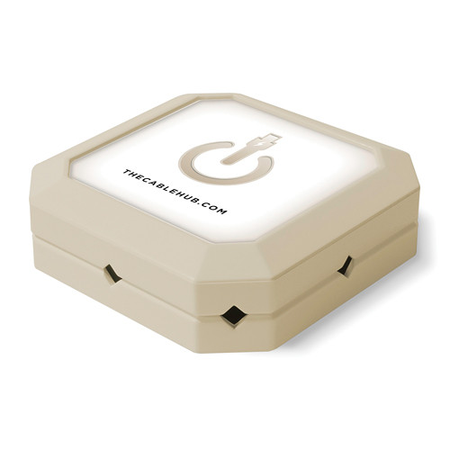 CableHub Square CableHub (Almond)