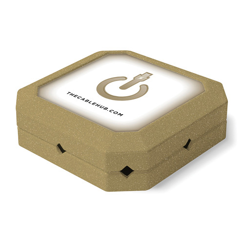 CableHub Square CableHub (Gold Metallic)