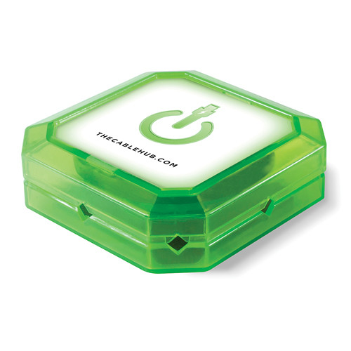 CableHub Square CableHub (Edge Glow Green)