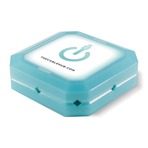 CableHub Square CableHub (Blue Glow)