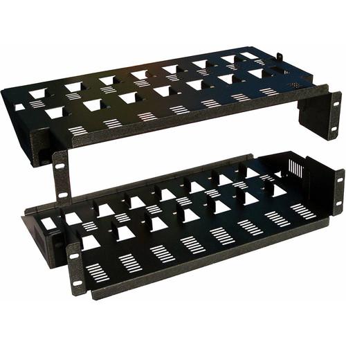 CableTronix Adjustable Rack Shelf for 8 DirecTV D12 Receivers