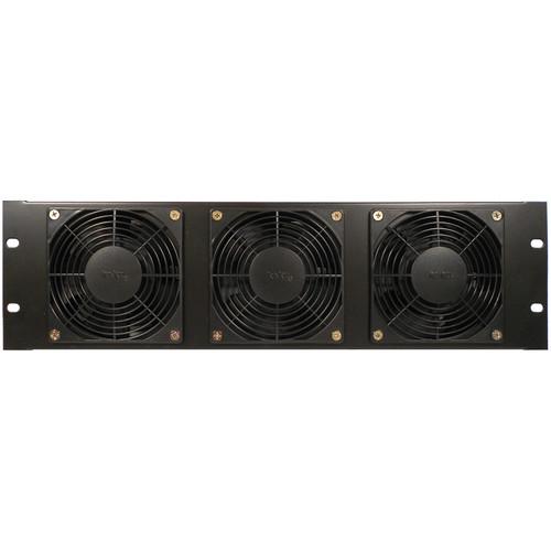 CableTronix Rackmountable Triple-Fan Blower (3 RU, Horizontal Air Flow)