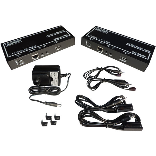 CableTronix HDMI Extender Transmitter and Receiver Kit (230')