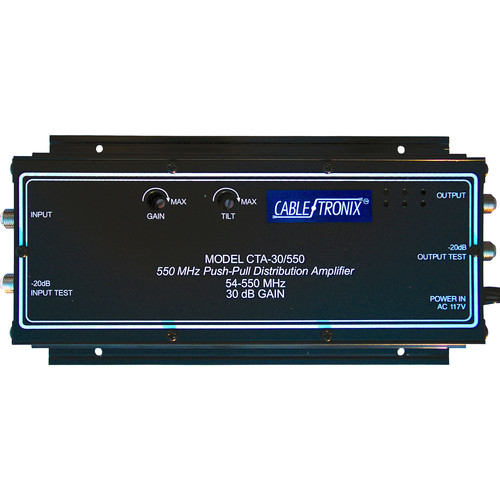 CableTronix CTA-30/550 Distribution Amplifier (Wall Mount)