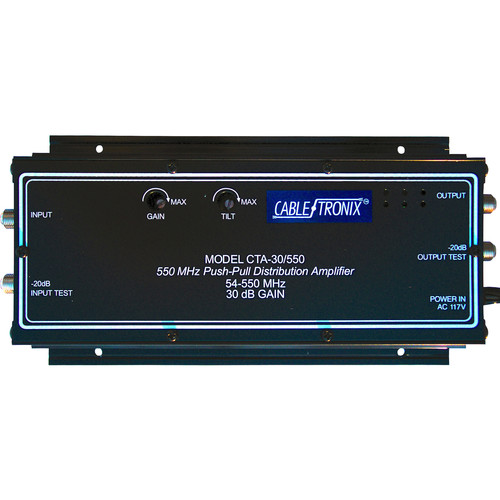 CableTronix CTA-30RK/550 Distribution Amplifier (Rackmount)
