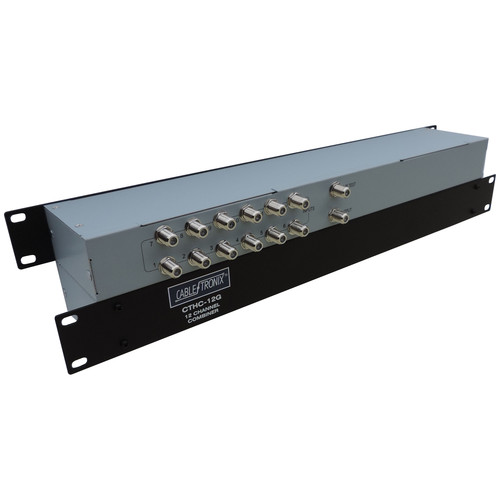 CableTronix CTHC-12G 12-Port Passive Headend Combiner