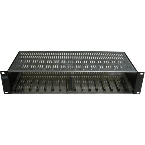 CableTronix 12-Space Micro Series Rack Mountable Chassis