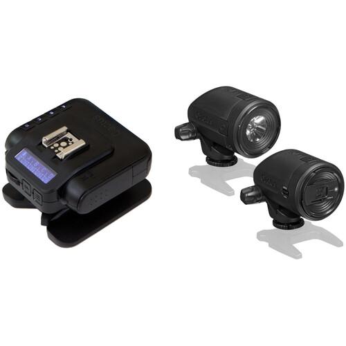 Cactus Wireless Transceiver V6 II and LV5 Laser Trigger Kit