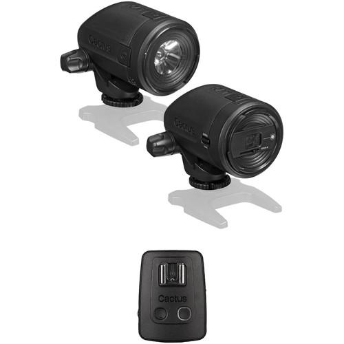 Cactus LV5 Laser Trigger with Flash Transceiver V5 Kit