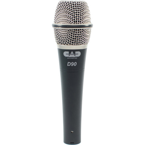 CAD CADLive D90 Premium Supercardioid Dynamic Handheld Microphone Kit (3-Pack)