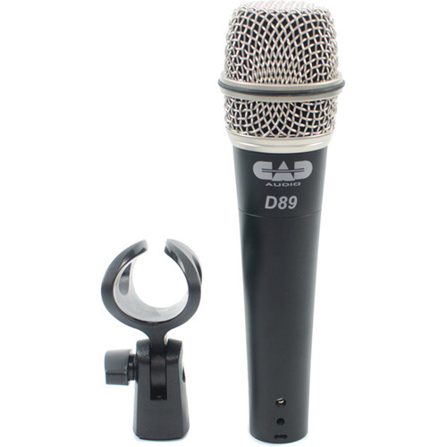 CAD CADLive D89 Supercardioid Dynamic Handheld Microphone