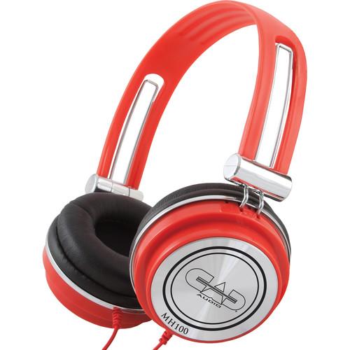 CAD MH100 Studio Headphones (Red)